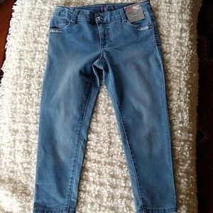 Girls First Cropped Jeans NWT Size 12